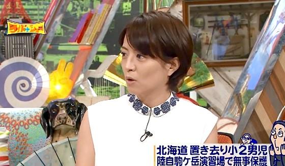 ワイドナショー画像 赤江珠緒「置き去りにされた男児は想像以上にわんぱくだった」 2016年6月5日