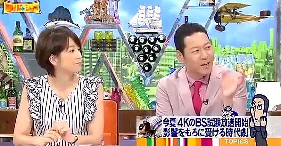 ワイドナショー画像 東野幸治がサッカーのゴールラインテクノロジーを紹介 2016年6月19日