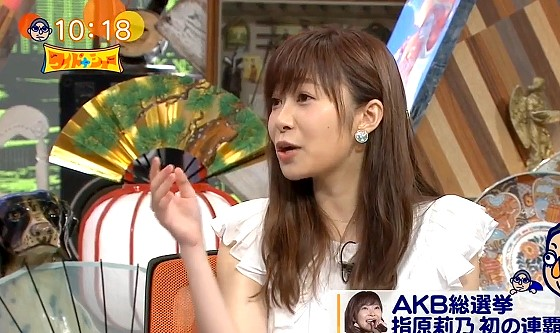 ワイドナショー画像 指原莉乃が女子高生の北村優衣に「なんで余計なこと言うの」 2016年6月26日