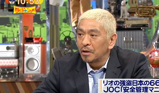 ワイドナショー画像 松本人志に東野幸治が「お上手ですね」 2016年6月26日