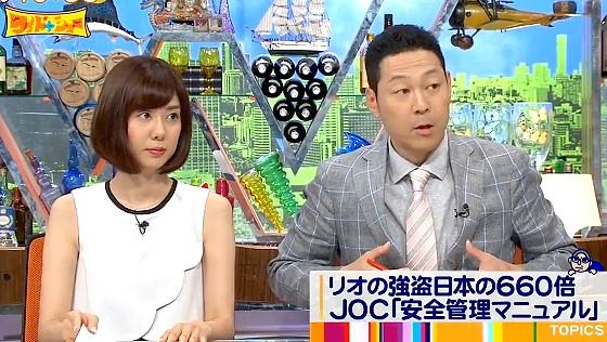 ワイドナショー画像 東野幸治がリオオリンピックでの治安の悪さを紹介 2016年6月26日