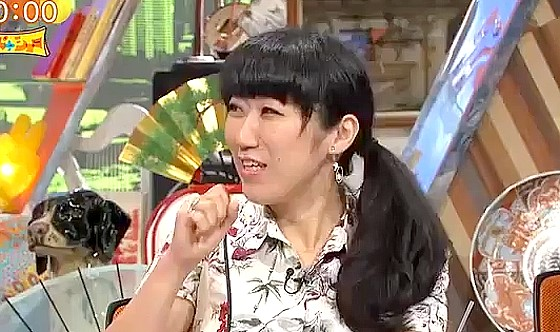 ワイドナショー画像 初登場の大宮エリーがかつて松本人志を演出したドラマ「木下部長とボク」を紹介 2016年7月3日