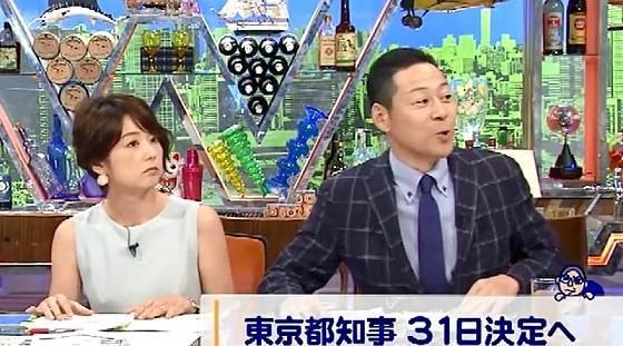 ワイドナショー画像 秋元優里アナ 東野幸治「石田純一さんは芸能界のルールをわかってるはず」 2016年7月17日