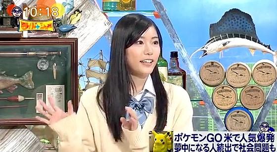 ワイドナショー画像 竹俣紅がポケモンGOの海外先行配信は任天堂の戦略だと分析してスタジオから「すごい」の声 2016年7月17日