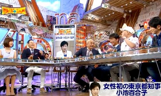 ワイドナショー画像 大川総裁「国民の声を聞くと言った鳥越俊太郎のスピーチは聞こえにくかった」 2016年8月7日