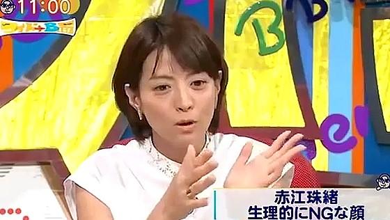 ワイドナショー画像 赤江珠緒「生理的に受け付けない顔がある」松本人志「具体的にタレントで」 2016年8月28日