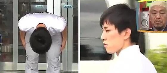 ワイドナショー画像 高畑裕太氏の謝罪の様子 2016年9月11日