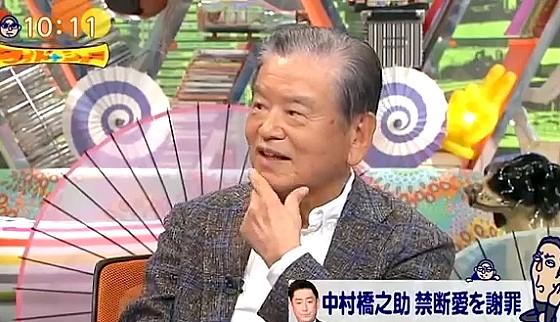 ワイドナショー画像 川淵三郎Bリーグチェアマンが大手企業の謝罪の方法に批判的意見 2016年9月18日