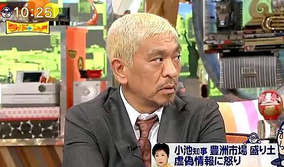ワイドナショー画像 松本人志「良純さんはお父さんが悪くないと思いますか?」 2016年9月18日