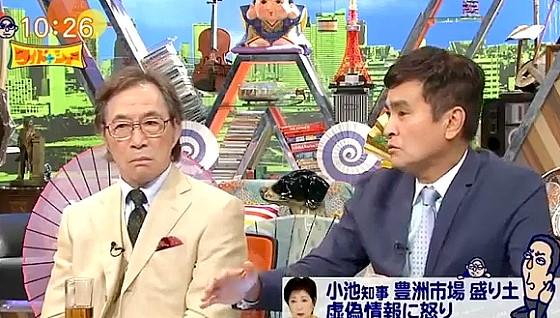 ワイドナショー画像 武田鉄矢「豊洲問題はどうなっていれば問題なかったの?」 2016年9月18日