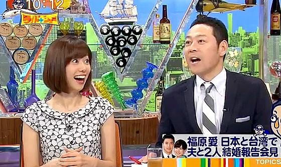 ワイドナショー画像 爽やかな会見は大嫌いという松本人志に山崎夕貴アナが「ゆがんでますね」 2016年9月25日