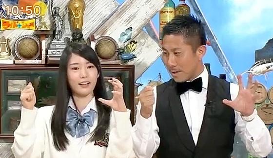 ワイドナショー画像 竹俣紅が前園真聖を誘ってピコ太郎のパイナッポーペン動画を教える 2016年10月2日