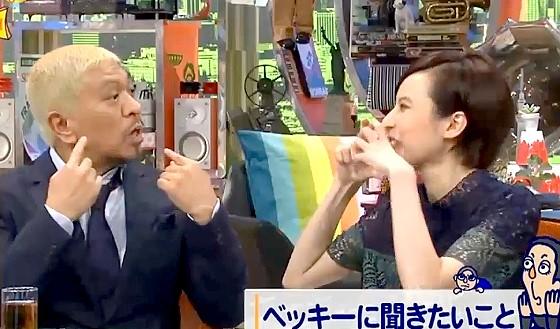 ワイドナショー画像 松本人志「大きなマスクで変装と書かれるが顔が小さいだけ」 2016年10月9日