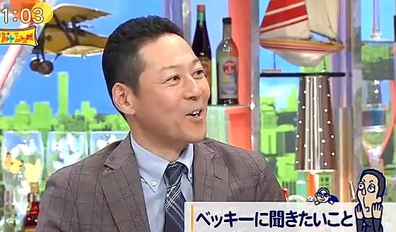 ワイドナショー画像 東野幸治「ベッキーの会見のあと円楽師匠も会見のあり方を変えた」 2016年10月9日