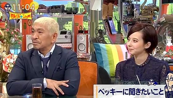 ワイドナショー画像 松本人志「ベッキーは矢口みたくヨゴレじゃないから」東野幸治「矢口さんもヨゴレじゃないです」 2016年10月9日
