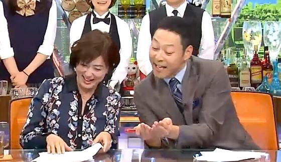 ワイドナショー画像 東野幸治と佐々木恭子が半笑いでベッキーに接する「根がゴシップ好きなんで」 2016年10月9日