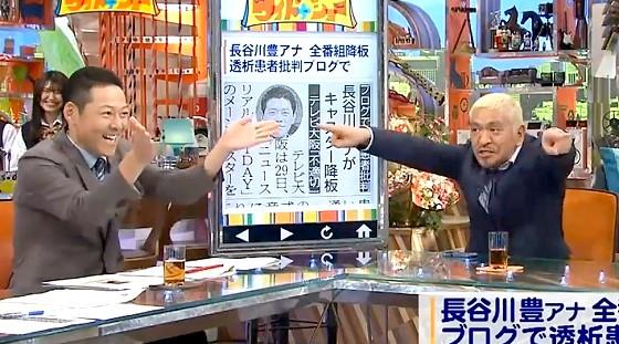 ワイドナショー画像 長谷川豊の性格を松本人志が分析「ホースのノズル調節が下手な人」 2016年10月9日