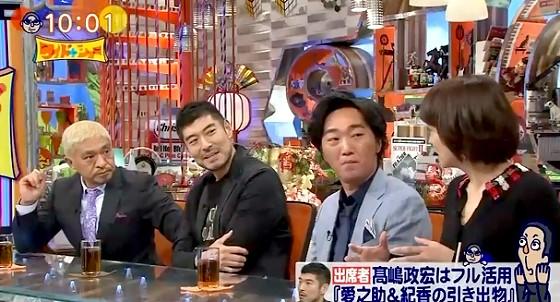 ワイドナショー画像 高嶋政宏の面白くないクイズにしょうがなく付き合うゲストたち 2016年10月16日