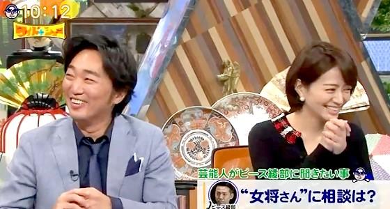 ワイドナショー画像 スピードワゴン小沢がピース綾部祐二に「女将さん(藤田紀子)は帰る部屋はあるって言ってた?」 2016年10月16日