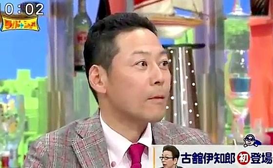 ワイドナショー画像 古舘伊知郎に誉められた東野幸治の目が星型に 2016年11月6日