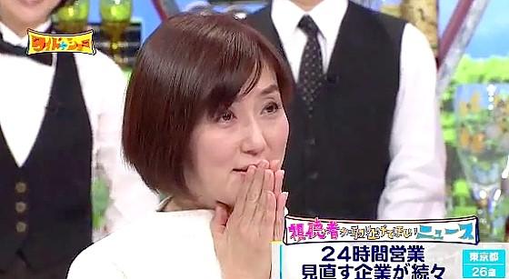 ワイドナショー画像 本番中に携帯のアラーム音を鳴らしてしまい平謝りの佐々木恭子アナ 2016年12月4日