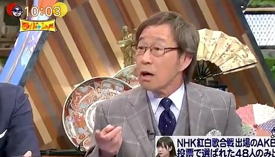 ワイドナショー画像 武田鉄矢「謙虚なアイドルはつまんない」 2016年12月18日
