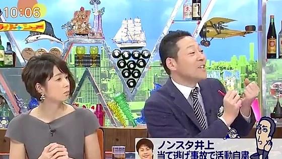 ワイドナショー画像 東野幸治「事故を起こしたこともあるが連絡するのは当たり前」 2016年12月18日
