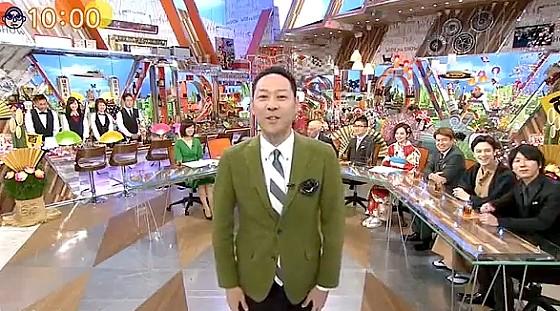 ワイドナショー画像 元旦スペシャルで東野が前に出るオープニング 2017年1月1日