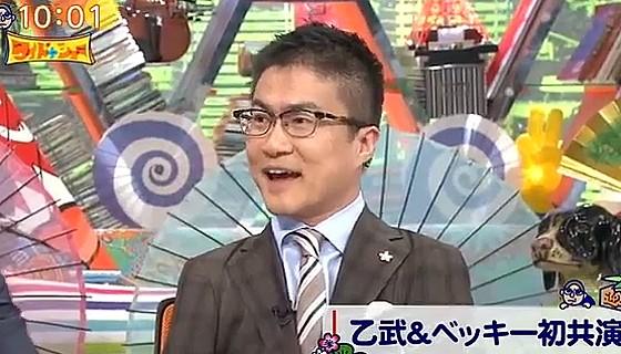ワイドナショー画像 乙武洋匡「ベッキーと自分の2人をキャスティングするのは攻めるなー」 2017年1月1日