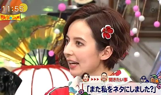 ワイドナショー画像 ベッキーが東野に文句「私をビジネスに使わないで」 2017年1月1日