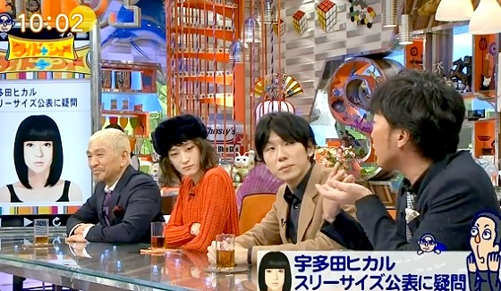 ワイドナショー画像 スピードワゴン小沢一敬「芸能人のスリーサイズはカップラーメンの成分表のようなもの」 2017年1月8日