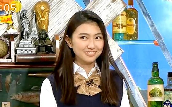 ワイドナショー画像 ワイドナ現役高校生の松山桐子が身長を2センチ低く公表していることを明かす 2017年1月8日