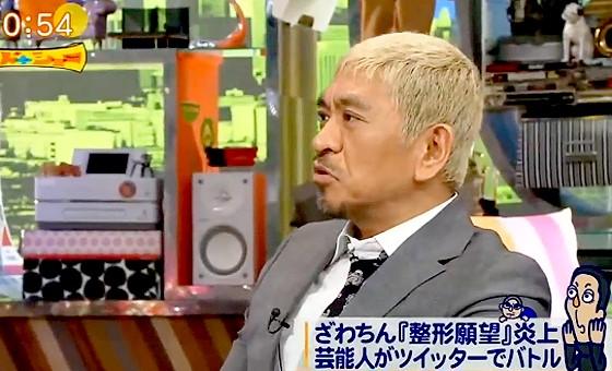 ワイドナショー画像 松本人志「ツイッターで炎上しなによう当たり障りのない返しをするとそれも叩かれる」 2017年1月22日