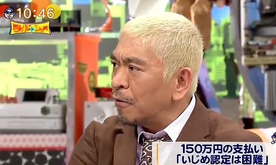 ワイドナショー画像 松本人志「もし本当に義援金が恐喝されたのだとしたら許せない」 2017年1月29日