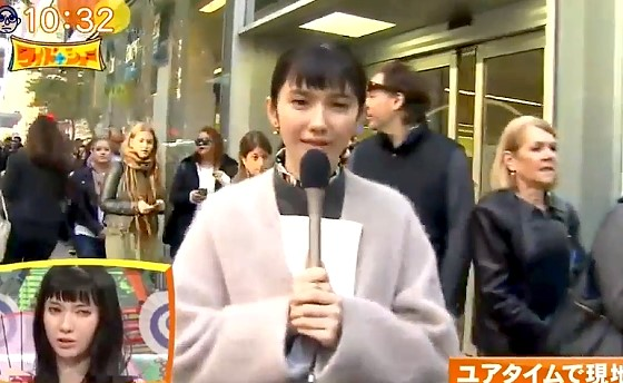 ワイドナショー画像 大統領選挙のレポートを現地で行う市川紗椰 2017年2月5日