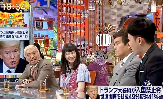 ワイドナショー画像 小籔千豊が市川紗椰のユアタイムに対抗して小籔タイムを展開 2017年2月5日