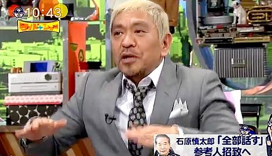 ワイドナショー画像 石原慎太郎をクッパに例えて喜ぶ松本人志 2017年2月12日