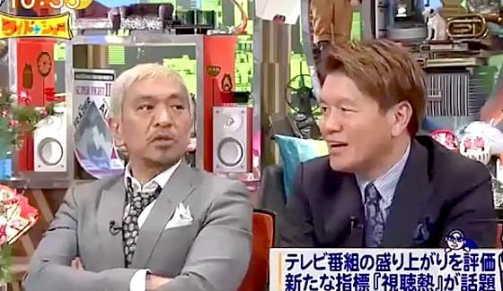 ワイドナショー画像 松本人志「テレビの司会者はみな残忍」 2017年2月12日