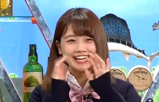 ワイドナショー画像 ワイドナ現役高校生の小鷹狩百花が笑いを取ったあと「今日は調子悪い」 2017年2月26日
