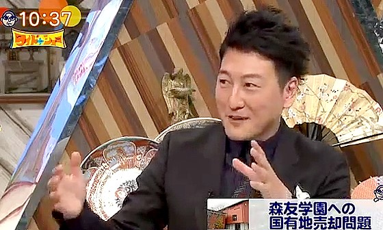 ワイドナショー画像 堀潤が昭恵夫人に聞いた話を紹介 2017年3月5日