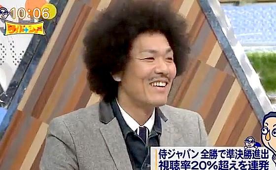 ワイドナショー画像 WBC侍ジャパンの快進撃の専門家としてトータルテンボス藤田憲右が登場 2017年3月19日