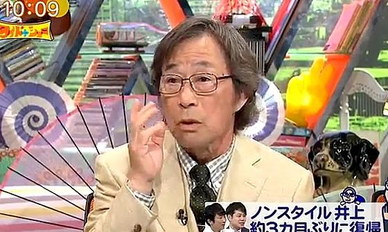 ワイドナショー画像 武田鉄矢がNONSTYLEの復帰漫才を絶賛 2017年4月9日