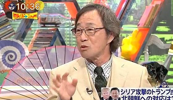 ワイドナショー画像 武田鉄矢「テロに備えて合気道を練習しよう」 2017年4月9日