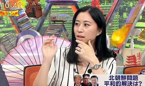 ワイドナショー画像 三浦瑠麗「金正恩の暴走が怖い」 2017年4月16日