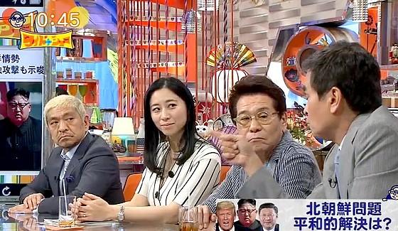 ワイドナショー画像 石原良純「中国が北朝鮮を経済制裁したら金正恩が自暴自棄になる可能性がある」 2017年4月16日
