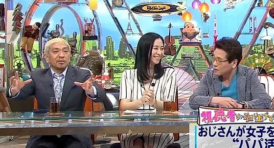 ワイドナショー画像 松本人志「ガッツ石松とメシ食っても面白くない」 2017年4月16日