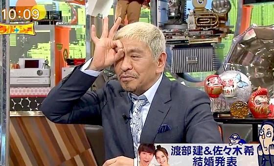 ワイドナショー画像 松本人志が浜田雅功の結婚式のエピソードを紹介 2017年4月16日