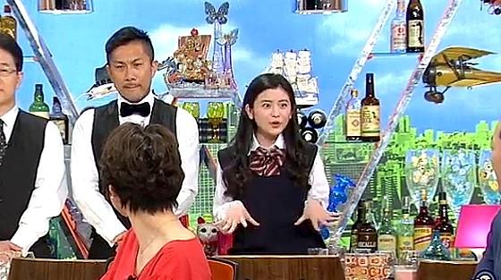 ワイドナショー画像 ワイドナ現役高校生の升澤理子がオーバーアクションで「アンビリーバボー」 2017年4月23日