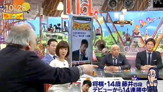 ワイドナショー画像 藤井四段の将棋内容を研究した加藤一二三九段(ひふみん)が「半分はぶっちぎりだった」 2017年4月30日