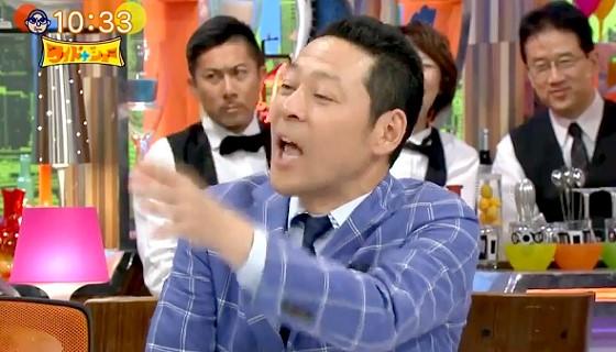 ワイドナショー画像 興奮気味の加藤一二三九段(ひふみん)に「落ち着いてください」と声をかける東野幸治 2017年4月30日